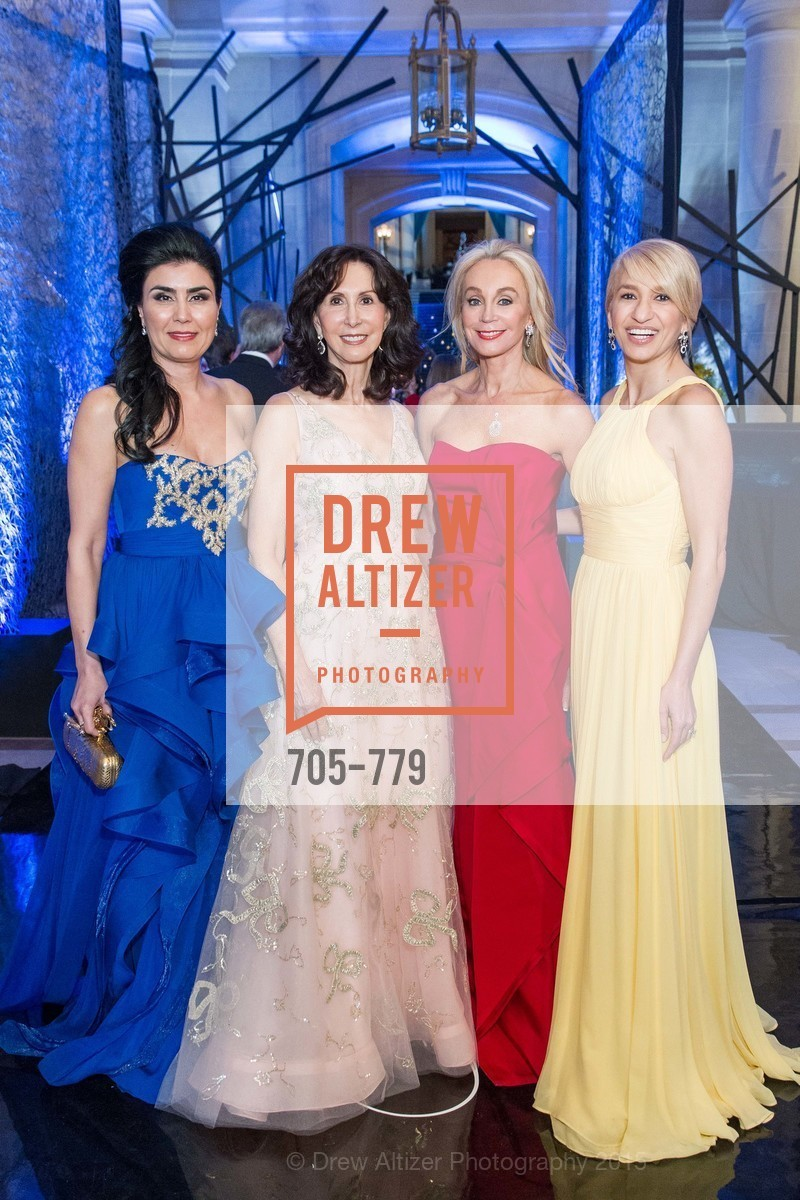 Afsaneh Akhtari, Carolyn Chandler, Giselle Anna Parry, Navid Armstrong, San Francisco Ballet 2015 Opening Night Gala, San Francisco City Hall. 1 Dr Carlton B Goodlett Pl, January 22nd, 2015,Drew Altizer, Drew Altizer Photography, full-service agency, private events, San Francisco photographer, photographer california
