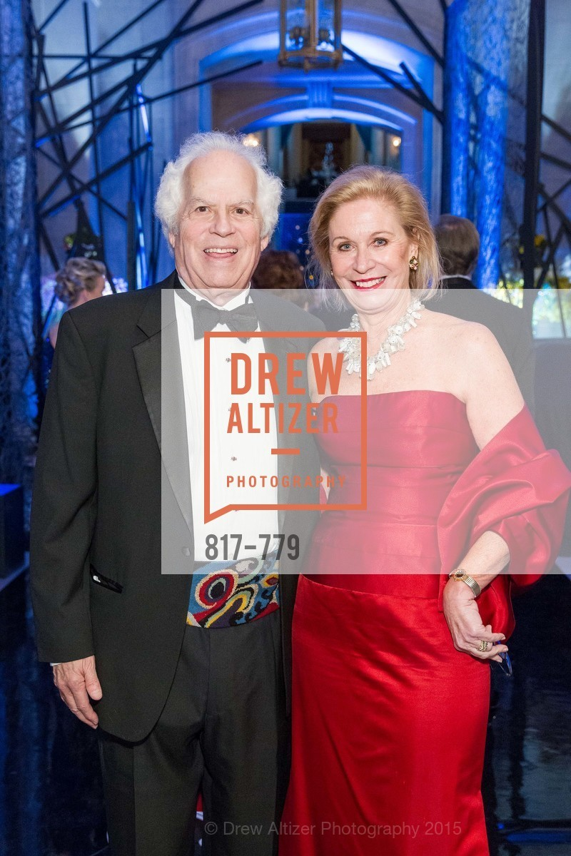 Stanley Prusiner, Sunnie Evers, San Francisco Ballet 2015 Opening Night Gala, San Francisco City Hall. 1 Dr Carlton B Goodlett Pl, January 22nd, 2015,Drew Altizer, Drew Altizer Photography, full-service agency, private events, San Francisco photographer, photographer california