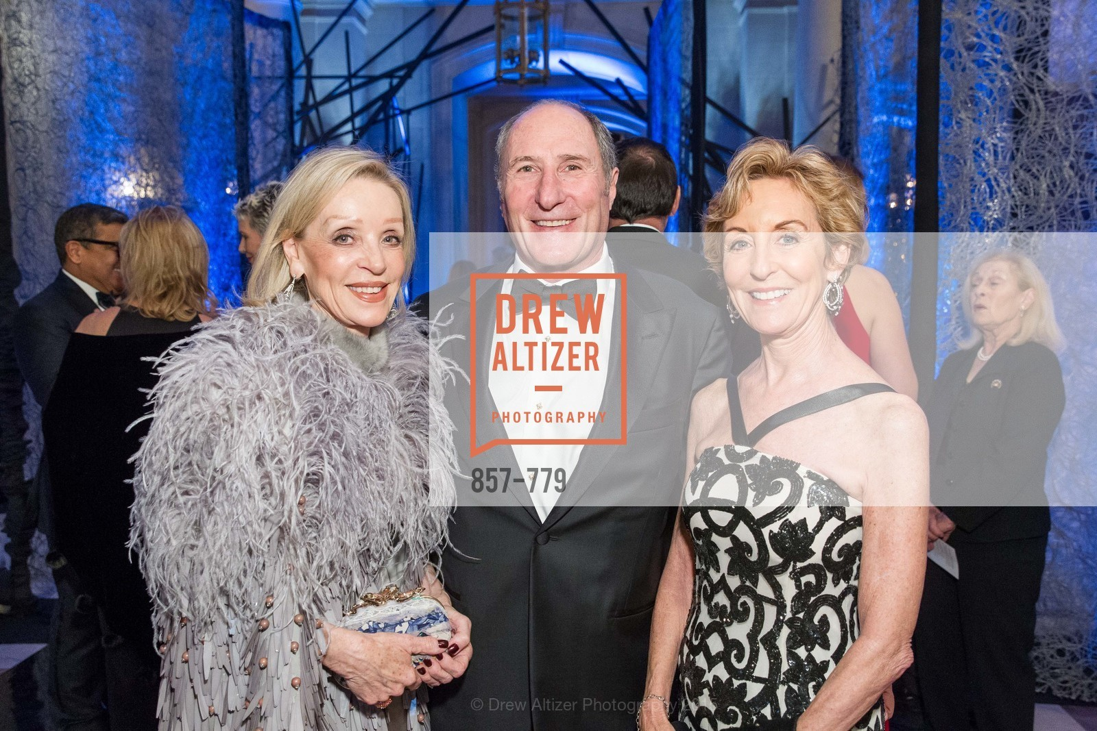 Barbara Brown, John Goldman, Marcia Goldman, San Francisco Ballet 2015 Opening Night Gala, San Francisco City Hall. 1 Dr Carlton B Goodlett Pl, January 22nd, 2015,Drew Altizer, Drew Altizer Photography, full-service agency, private events, San Francisco photographer, photographer california