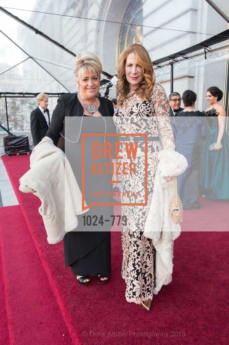 Holly Ghier, Pamela Ferrin Loucks, San Francisco Ballet 2015 Opening Night Gala, San Francisco City Hall. 1 Dr Carlton B Goodlett Pl, January 22nd, 2015,Drew Altizer, Drew Altizer Photography, full-service agency, private events, San Francisco photographer, photographer california