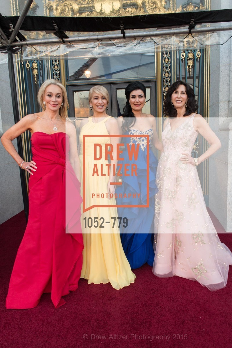 Giselle Anna Parry, Navid Armstrong, Afsaneh Akhtari, Carolyn Chandler, San Francisco Ballet 2015 Opening Night Gala, San Francisco City Hall. 1 Dr Carlton B Goodlett Pl, January 22nd, 2015,Drew Altizer, Drew Altizer Photography, full-service event agency, private events, San Francisco photographer, photographer California