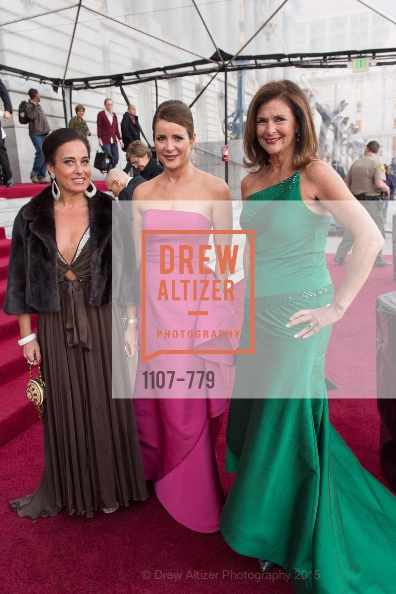 Natalia Urrutia, Michelle Ritchie, Linda Zider, San Francisco Ballet 2015 Opening Night Gala, San Francisco City Hall. 1 Dr Carlton B Goodlett Pl, January 22nd, 2015,Drew Altizer, Drew Altizer Photography, full-service agency, private events, San Francisco photographer, photographer california