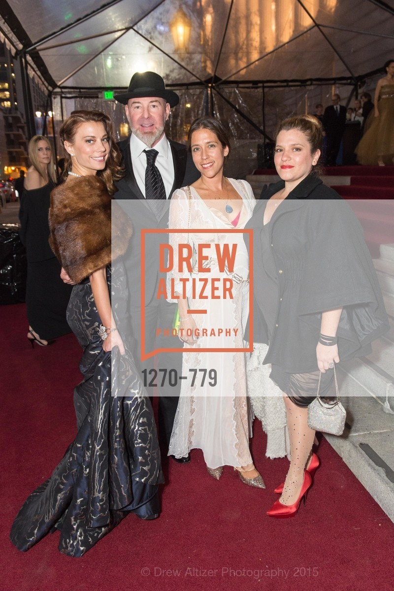 Camille Crowder, Christopher Bently, Jackie Pritzker, Amy Leroux, San Francisco Ballet 2015 Opening Night Gala, San Francisco City Hall. 1 Dr Carlton B Goodlett Pl, January 22nd, 2015,Drew Altizer, Drew Altizer Photography, full-service agency, private events, San Francisco photographer, photographer california