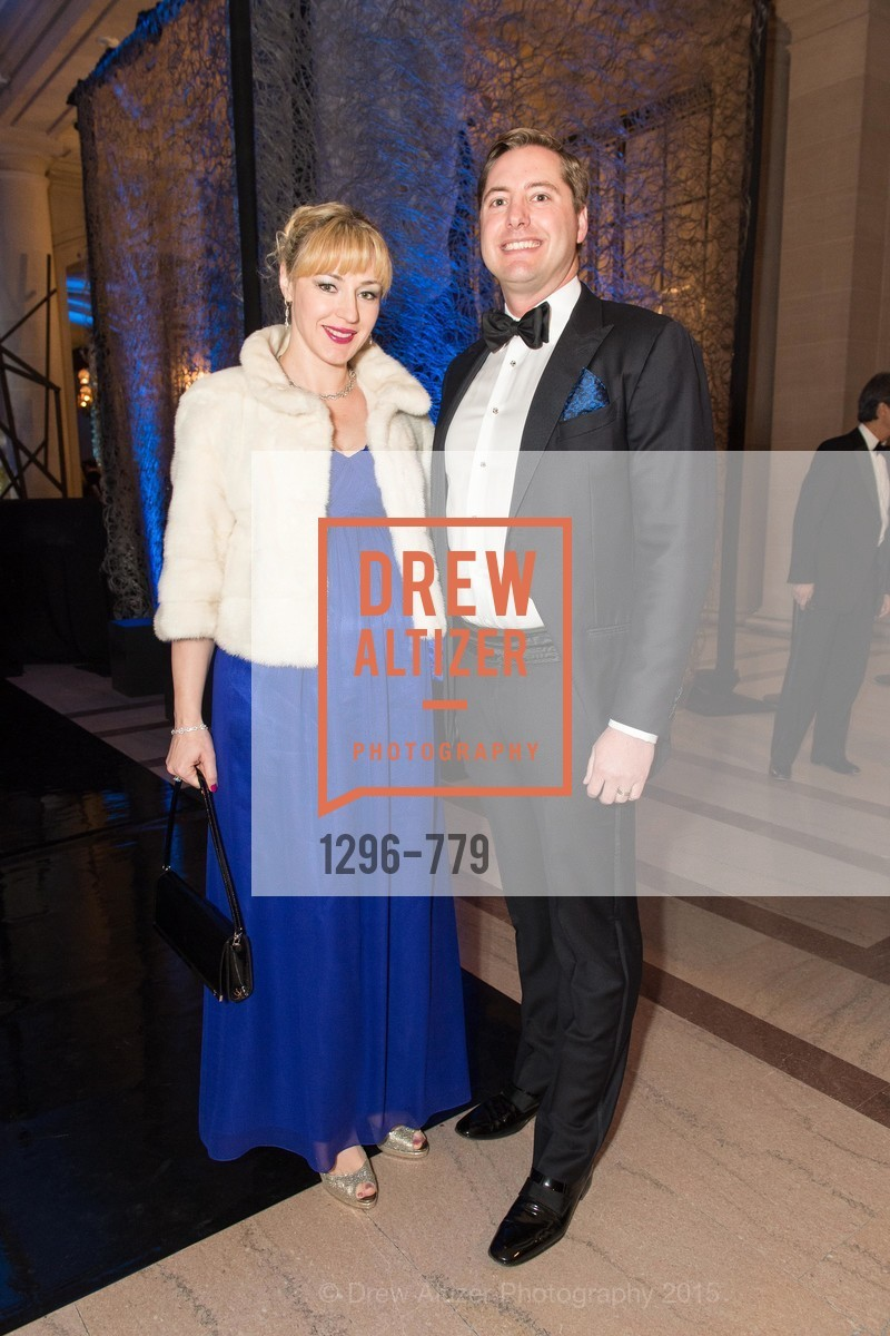 Liza Gustafson, Brian Gustafson, San Francisco Ballet 2015 Opening Night Gala, San Francisco City Hall. 1 Dr Carlton B Goodlett Pl, January 22nd, 2015,Drew Altizer, Drew Altizer Photography, full-service agency, private events, San Francisco photographer, photographer california