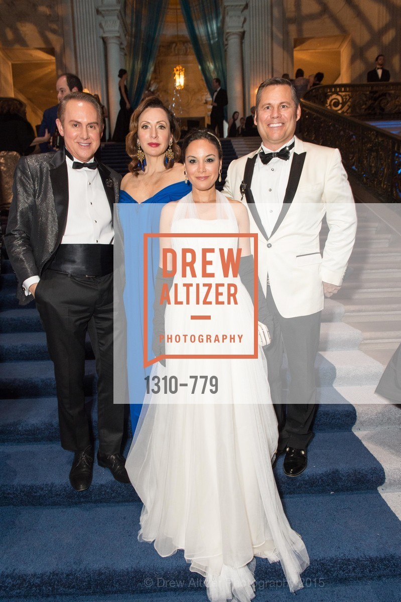 Joel Goodrich, Clara Shayevich, Bahya Oumil-Murad, Mark Calvano, San Francisco Ballet 2015 Opening Night Gala, San Francisco City Hall. 1 Dr Carlton B Goodlett Pl, January 22nd, 2015,Drew Altizer, Drew Altizer Photography, full-service agency, private events, San Francisco photographer, photographer california