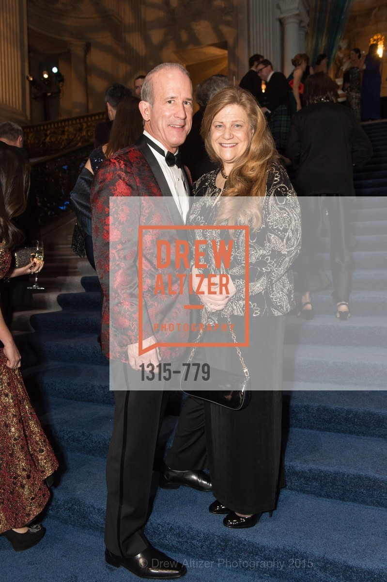 Robert Paden, Linda Paden, San Francisco Ballet 2015 Opening Night Gala, San Francisco City Hall. 1 Dr Carlton B Goodlett Pl, January 22nd, 2015,Drew Altizer, Drew Altizer Photography, full-service agency, private events, San Francisco photographer, photographer california