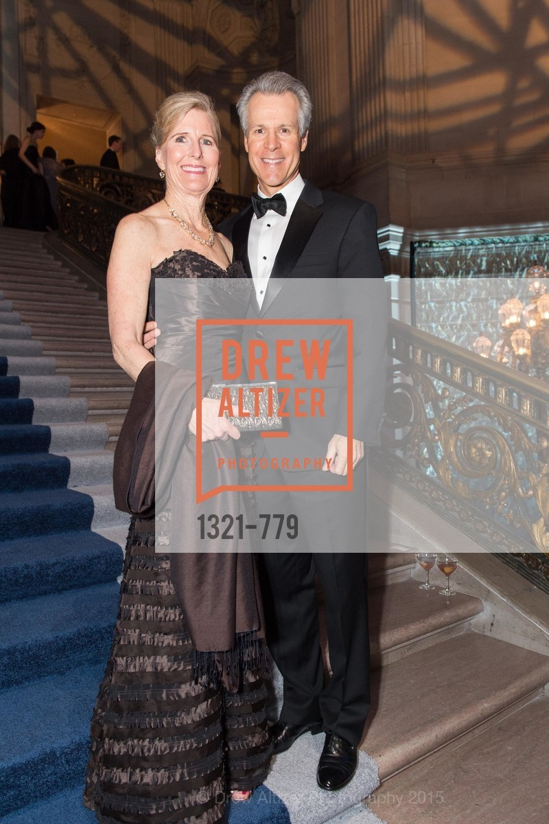 Kim LeMieux, Tom LeMieux, San Francisco Ballet 2015 Opening Night Gala, San Francisco City Hall. 1 Dr Carlton B Goodlett Pl, January 22nd, 2015,Drew Altizer, Drew Altizer Photography, full-service agency, private events, San Francisco photographer, photographer california