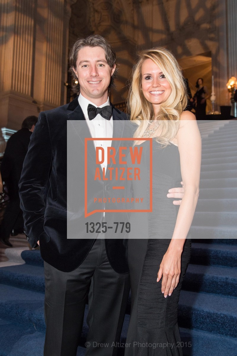 James Herbert, Liz Hornig, San Francisco Ballet 2015 Opening Night Gala, San Francisco City Hall. 1 Dr Carlton B Goodlett Pl, January 22nd, 2015,Drew Altizer, Drew Altizer Photography, full-service agency, private events, San Francisco photographer, photographer california