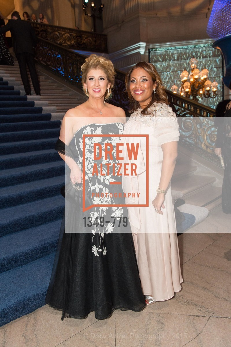 Roberta Economidis, Laura Miller, San Francisco Ballet 2015 Opening Night Gala, San Francisco City Hall. 1 Dr Carlton B Goodlett Pl, January 22nd, 2015,Drew Altizer, Drew Altizer Photography, full-service agency, private events, San Francisco photographer, photographer california