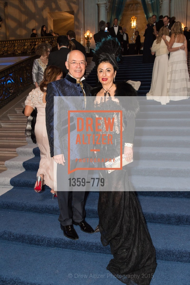 Esmeralda Azan, Alain Azan, San Francisco Ballet 2015 Opening Night Gala, San Francisco City Hall. 1 Dr Carlton B Goodlett Pl, January 22nd, 2015,Drew Altizer, Drew Altizer Photography, full-service agency, private events, San Francisco photographer, photographer california