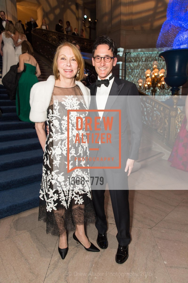Arlene Sullivan, James Krohn, San Francisco Ballet 2015 Opening Night Gala, San Francisco City Hall. 1 Dr Carlton B Goodlett Pl, January 22nd, 2015,Drew Altizer, Drew Altizer Photography, full-service agency, private events, San Francisco photographer, photographer california