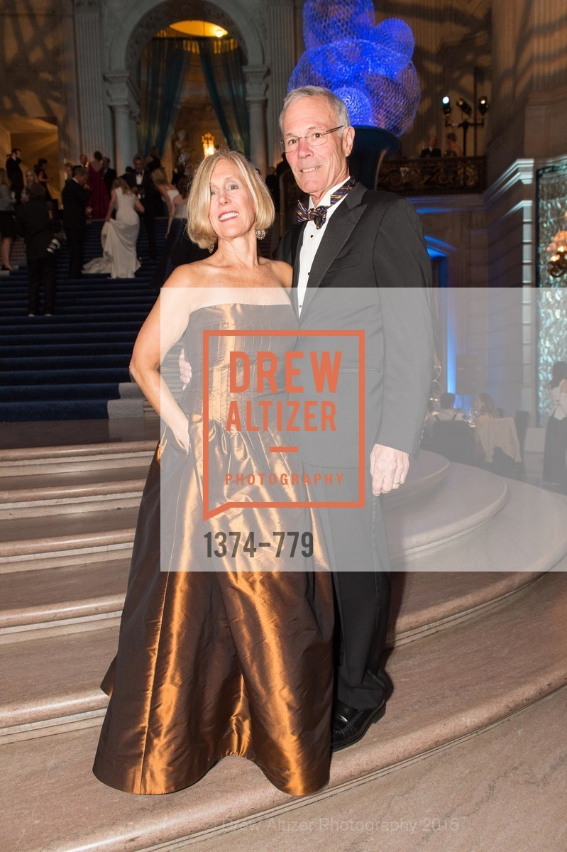 Kathy Huber, Nellis Smith, San Francisco Ballet 2015 Opening Night Gala, San Francisco City Hall. 1 Dr Carlton B Goodlett Pl, January 22nd, 2015,Drew Altizer, Drew Altizer Photography, full-service agency, private events, San Francisco photographer, photographer california