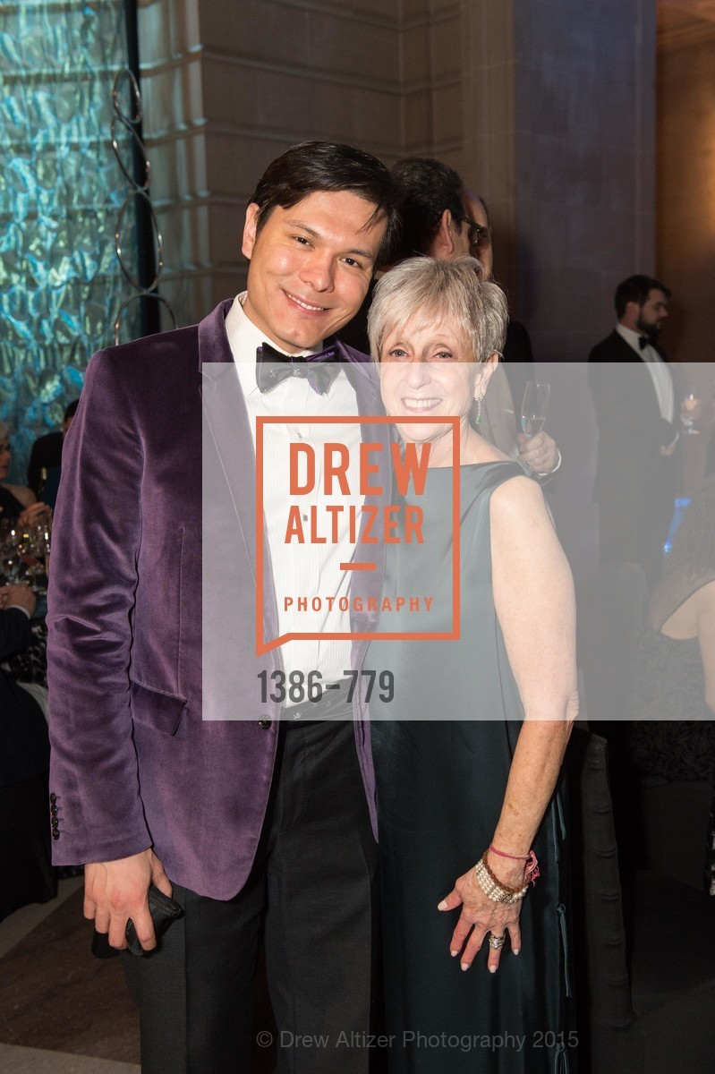 Michael Nguyen, Nancy Livingston, San Francisco Ballet 2015 Opening Night Gala, San Francisco City Hall. 1 Dr Carlton B Goodlett Pl, January 22nd, 2015,Drew Altizer, Drew Altizer Photography, full-service event agency, private events, San Francisco photographer, photographer California
