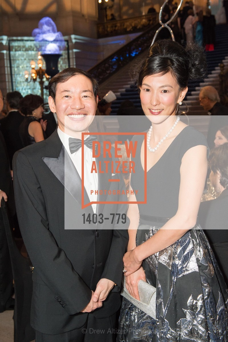 Yasunobu Kyogoku, Reiko Kyogoku, San Francisco Ballet 2015 Opening Night Gala, San Francisco City Hall. 1 Dr Carlton B Goodlett Pl, January 22nd, 2015