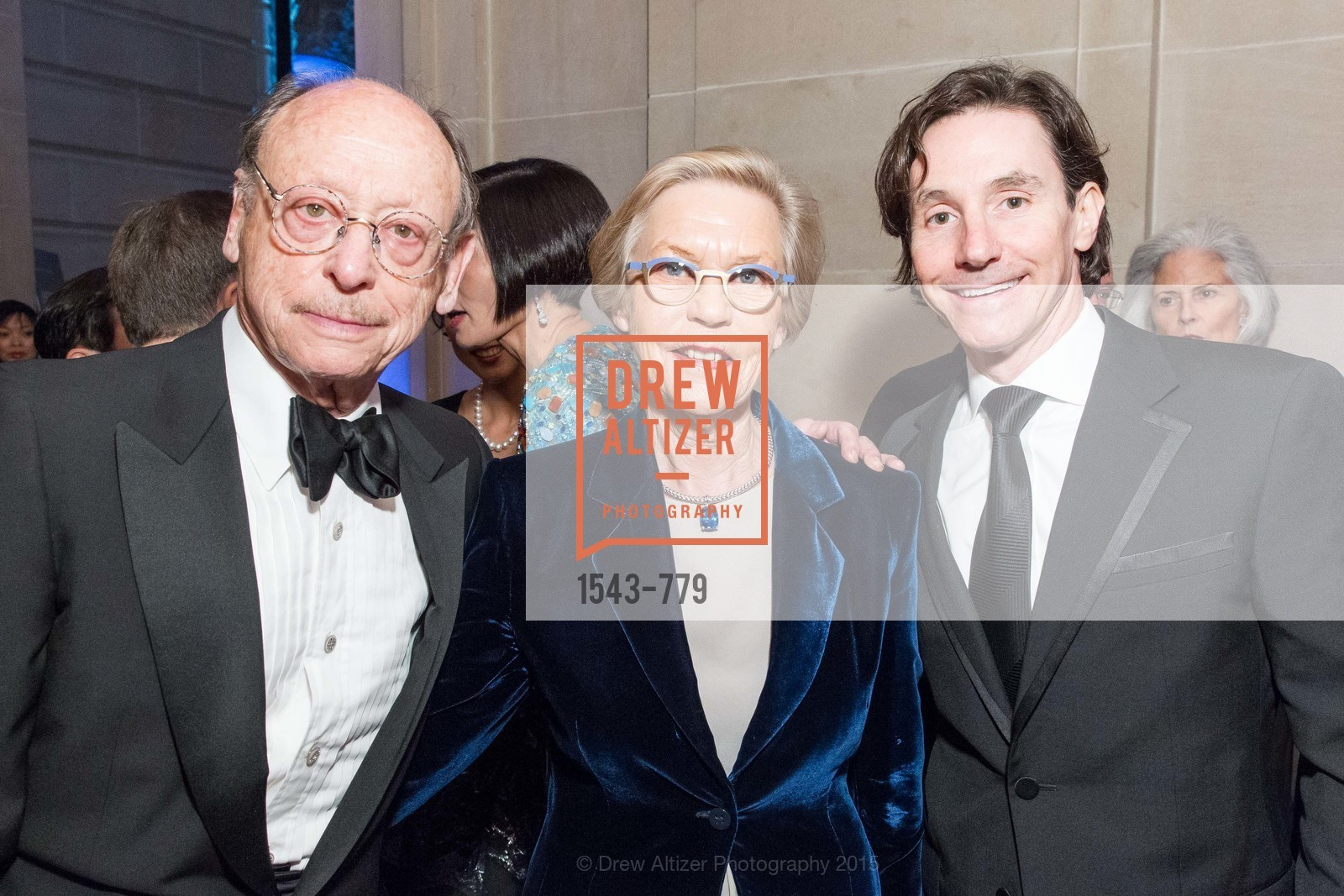 Bernard Osher, Barbro Osher, David Agger, San Francisco Ballet 2015 Opening Night Gala, San Francisco City Hall. 1 Dr Carlton B Goodlett Pl, January 22nd, 2015,Drew Altizer, Drew Altizer Photography, full-service agency, private events, San Francisco photographer, photographer california
