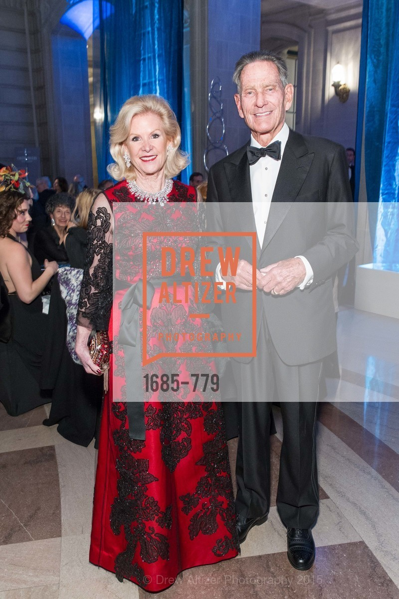 Dede Wilsey, Charles DeGuigne, San Francisco Ballet 2015 Opening Night Gala, San Francisco City Hall. 1 Dr Carlton B Goodlett Pl, January 22nd, 2015,Drew Altizer, Drew Altizer Photography, full-service agency, private events, San Francisco photographer, photographer california