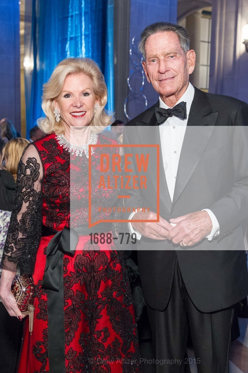 Dede Wilsey, Charles DeGuigne, San Francisco Ballet 2015 Opening Night Gala, San Francisco City Hall. 1 Dr Carlton B Goodlett Pl, January 22nd, 2015,Drew Altizer, Drew Altizer Photography, full-service event agency, private events, San Francisco photographer, photographer California
