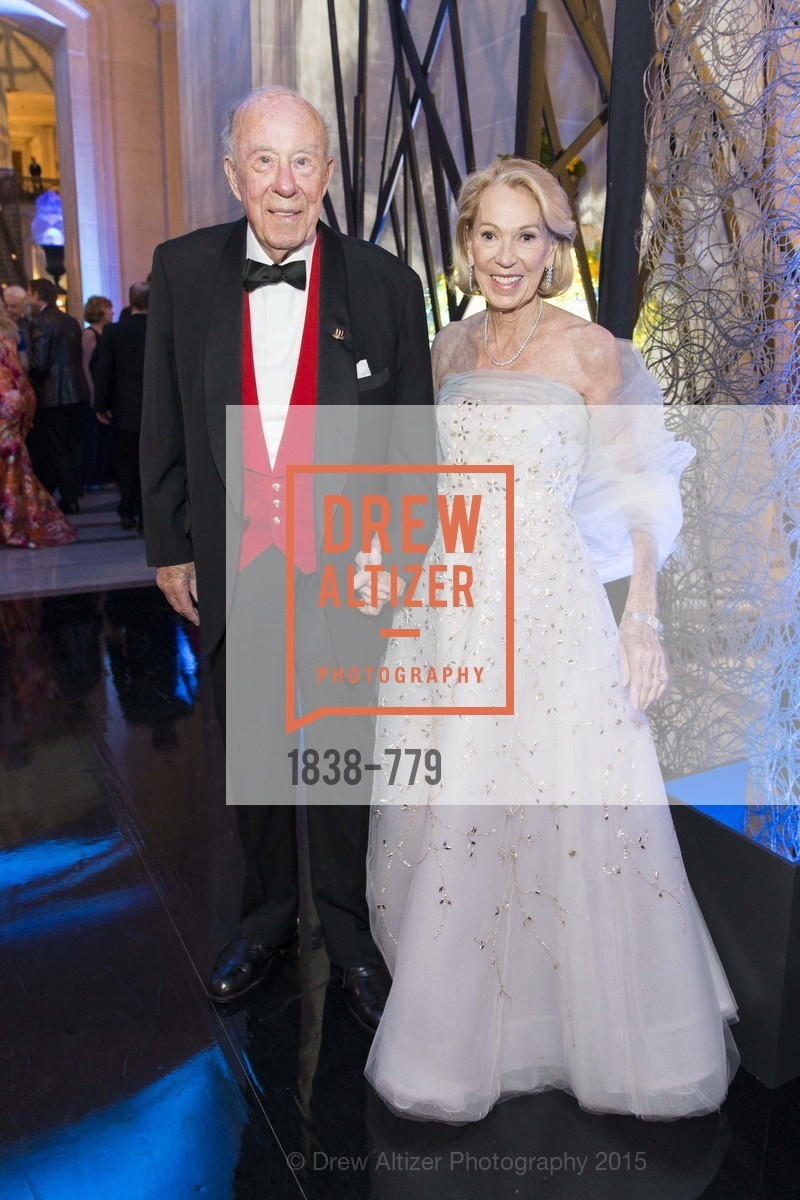 George Shultz, Charlotte Shultz, San Francisco Ballet 2015 Opening Night Gala, San Francisco City Hall. 1 Dr Carlton B Goodlett Pl, January 22nd, 2015,Drew Altizer, Drew Altizer Photography, full-service agency, private events, San Francisco photographer, photographer california