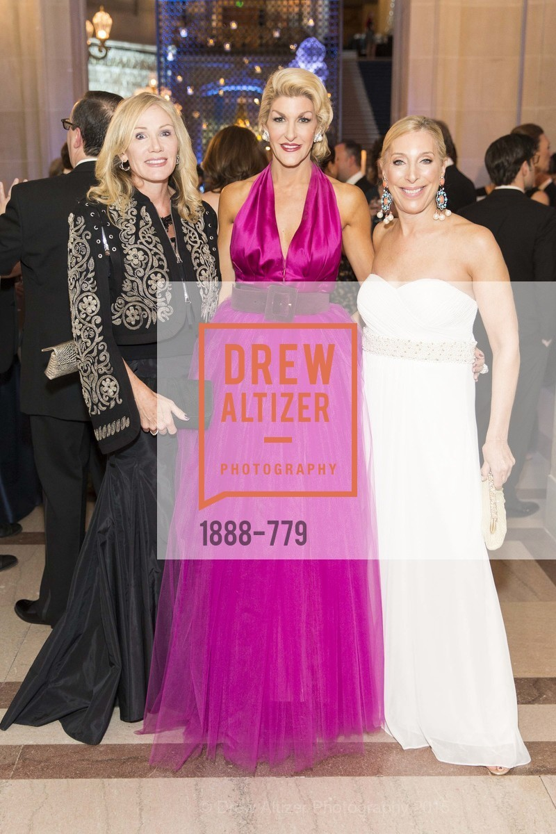 Rosemary Baker, Karen Caldwell, Betsy Linder, San Francisco Ballet 2015 Opening Night Gala, San Francisco City Hall. 1 Dr Carlton B Goodlett Pl, January 22nd, 2015,Drew Altizer, Drew Altizer Photography, full-service agency, private events, San Francisco photographer, photographer california