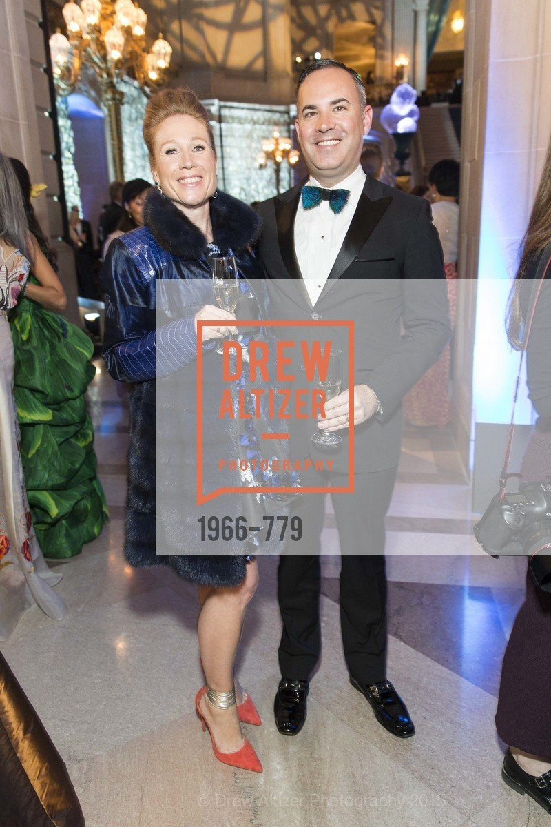 Heather Preston, Robert Arnold-Kraft, San Francisco Ballet 2015 Opening Night Gala, San Francisco City Hall. 1 Dr Carlton B Goodlett Pl, January 22nd, 2015,Drew Altizer, Drew Altizer Photography, full-service agency, private events, San Francisco photographer, photographer california