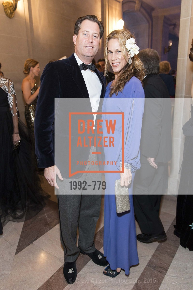 Patrick Barber, Melissa Barber, San Francisco Ballet 2015 Opening Night Gala, San Francisco City Hall. 1 Dr Carlton B Goodlett Pl, January 22nd, 2015,Drew Altizer, Drew Altizer Photography, full-service agency, private events, San Francisco photographer, photographer california