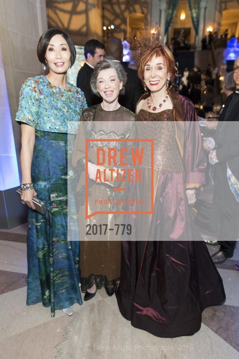 Yurie Pascarella, Carole Shorenstein Hays, Norah Stone, San Francisco Ballet 2015 Opening Night Gala, San Francisco City Hall. 1 Dr Carlton B Goodlett Pl, January 22nd, 2015,Drew Altizer, Drew Altizer Photography, full-service agency, private events, San Francisco photographer, photographer california