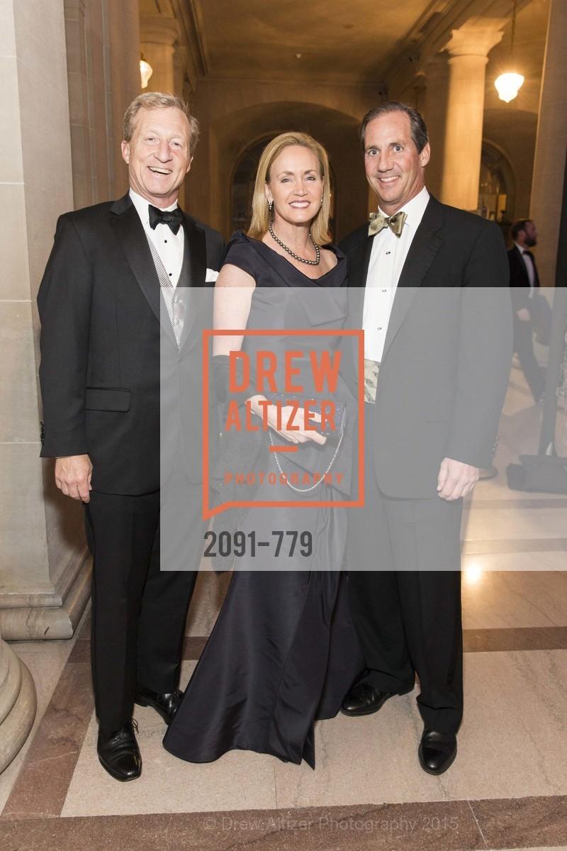 Tom Steyer, Dana Emery, Bob Emery, Photo #2091-779