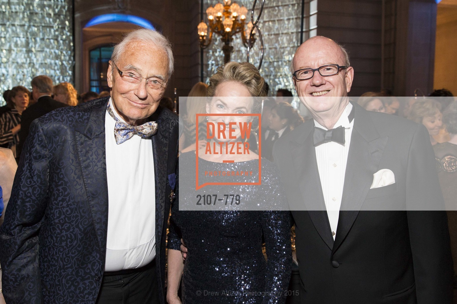 Tom Perkins, Shelby Strudwick, Tom Horn, San Francisco Ballet 2015 Opening Night Gala, San Francisco City Hall. 1 Dr Carlton B Goodlett Pl, January 22nd, 2015,Drew Altizer, Drew Altizer Photography, full-service agency, private events, San Francisco photographer, photographer california