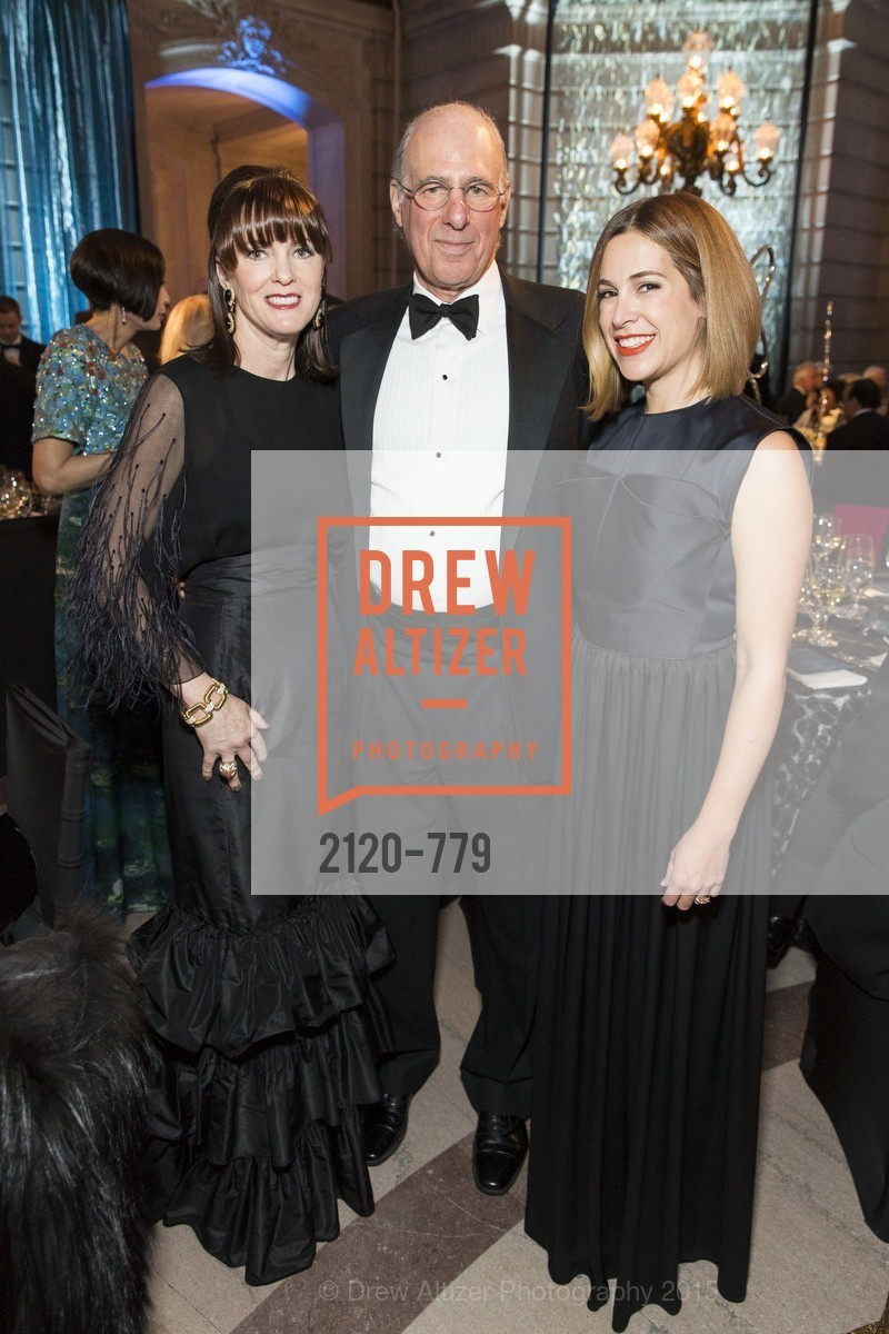 Allison Speer, John Osterweis, Alison Pincus, San Francisco Ballet 2015 Opening Night Gala, San Francisco City Hall. 1 Dr Carlton B Goodlett Pl, January 22nd, 2015,Drew Altizer, Drew Altizer Photography, full-service agency, private events, San Francisco photographer, photographer california