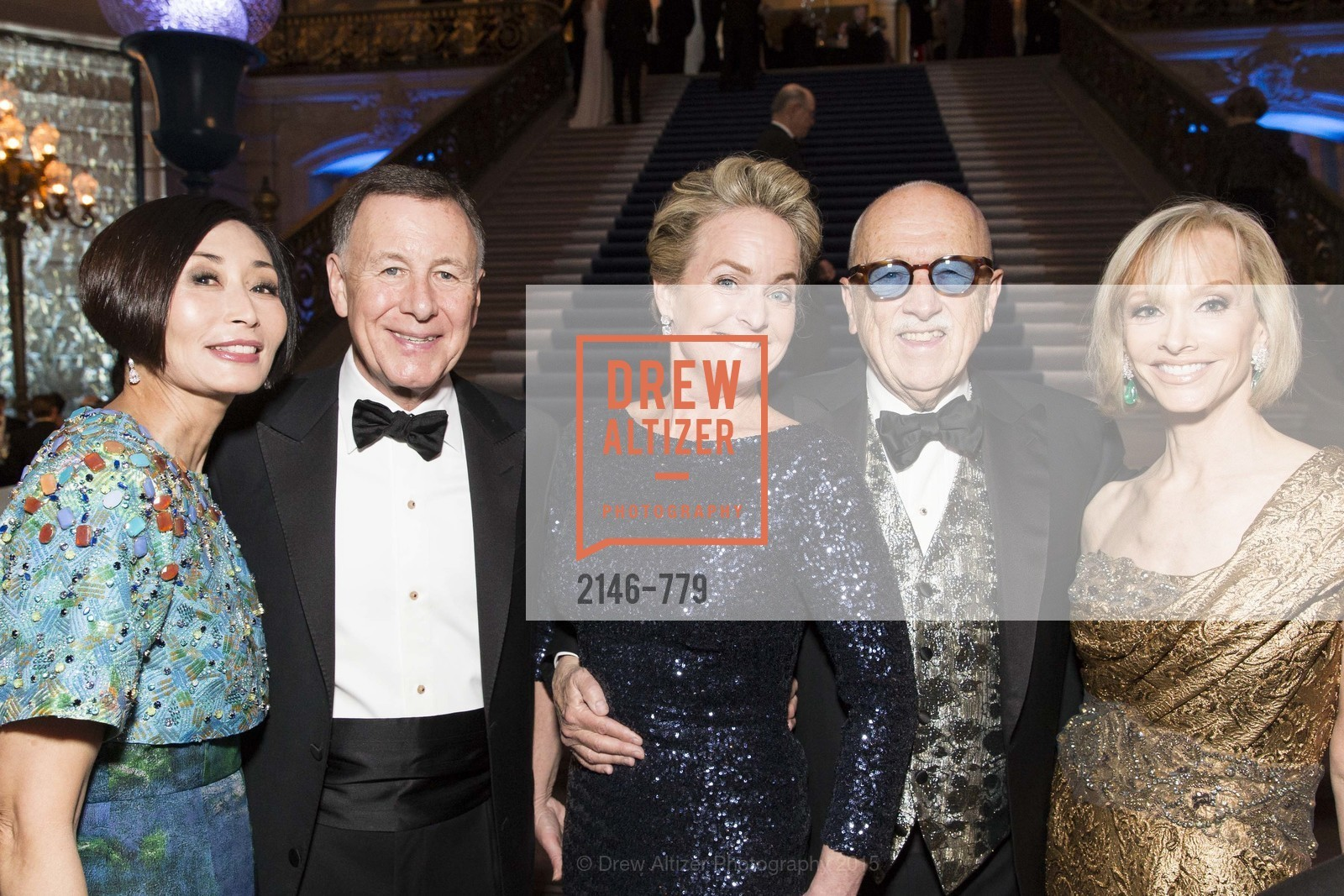 Yurie Pascarella, Carl Pascarella, Shelby Strudwick, Wilkes Bashford, OJ Shansby, San Francisco Ballet 2015 Opening Night Gala, San Francisco City Hall. 1 Dr Carlton B Goodlett Pl, January 22nd, 2015,Drew Altizer, Drew Altizer Photography, full-service agency, private events, San Francisco photographer, photographer california