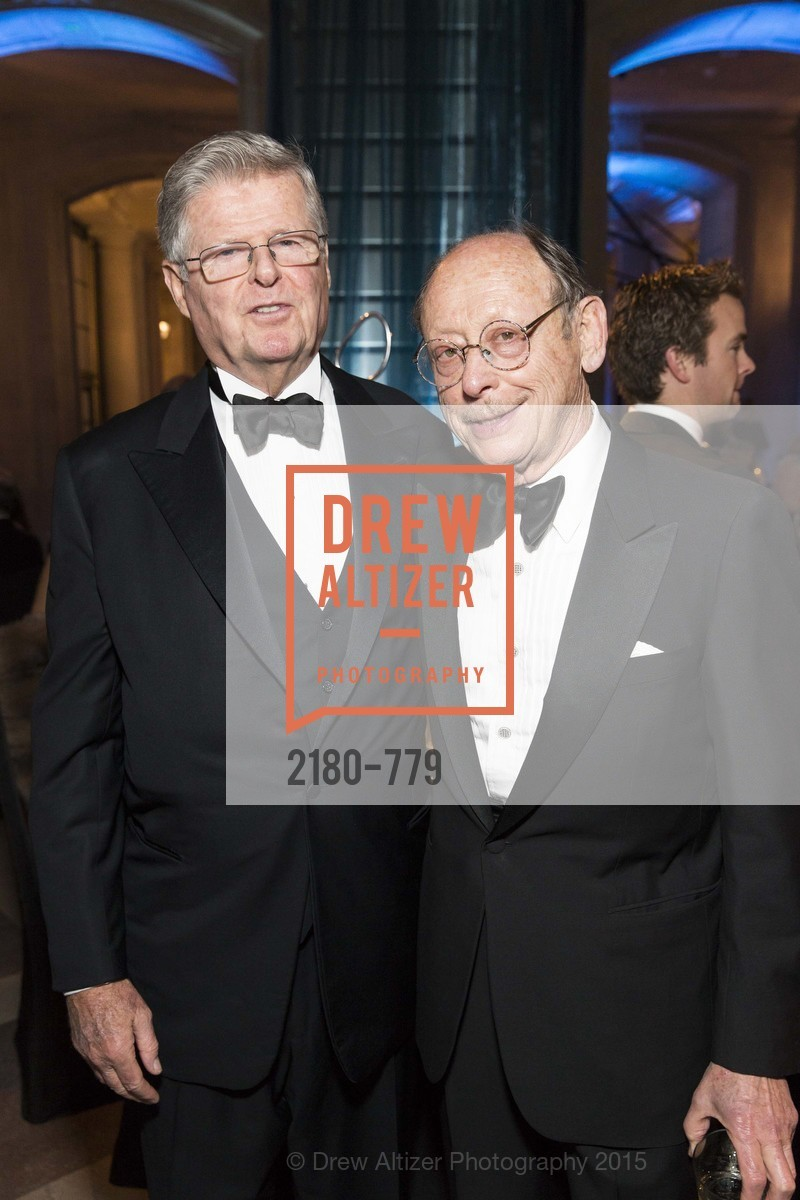 Richard Barker, Bernard Osher, San Francisco Ballet 2015 Opening Night Gala, San Francisco City Hall. 1 Dr Carlton B Goodlett Pl, January 22nd, 2015,Drew Altizer, Drew Altizer Photography, full-service agency, private events, San Francisco photographer, photographer california