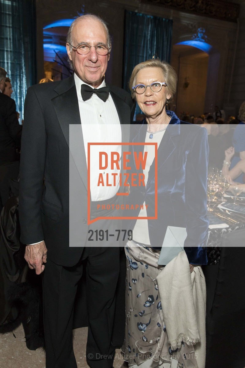 John Osterweis, Barbro Osher, San Francisco Ballet 2015 Opening Night Gala, San Francisco City Hall. 1 Dr Carlton B Goodlett Pl, January 22nd, 2015,Drew Altizer, Drew Altizer Photography, full-service agency, private events, San Francisco photographer, photographer california