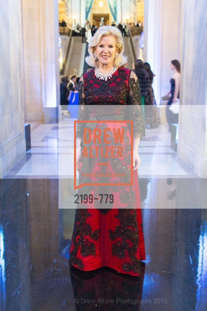 Dede Wilsey, San Francisco Ballet 2015 Opening Night Gala, San Francisco City Hall. 1 Dr Carlton B Goodlett Pl, January 22nd, 2015,Drew Altizer, Drew Altizer Photography, full-service agency, private events, San Francisco photographer, photographer california
