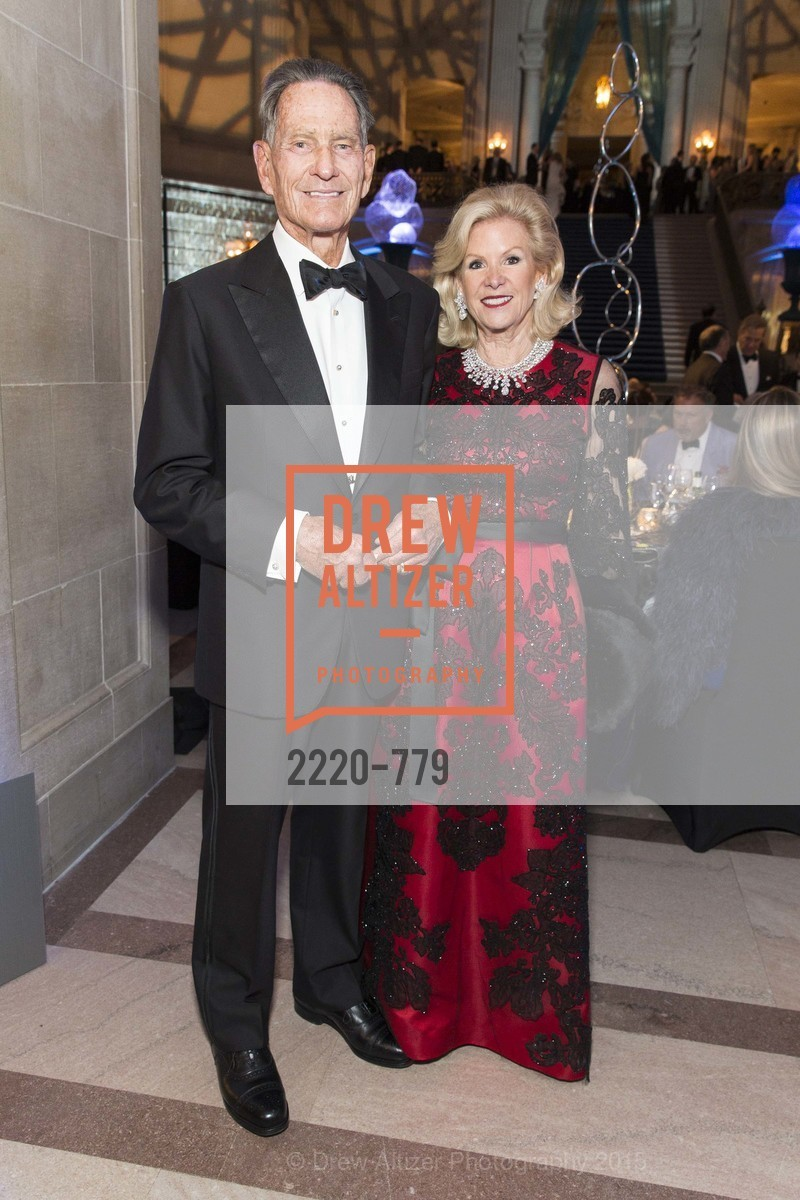 Charles DeGuigne, Dede Wilsey, San Francisco Ballet 2015 Opening Night Gala, San Francisco City Hall. 1 Dr Carlton B Goodlett Pl, January 22nd, 2015,Drew Altizer, Drew Altizer Photography, full-service agency, private events, San Francisco photographer, photographer california