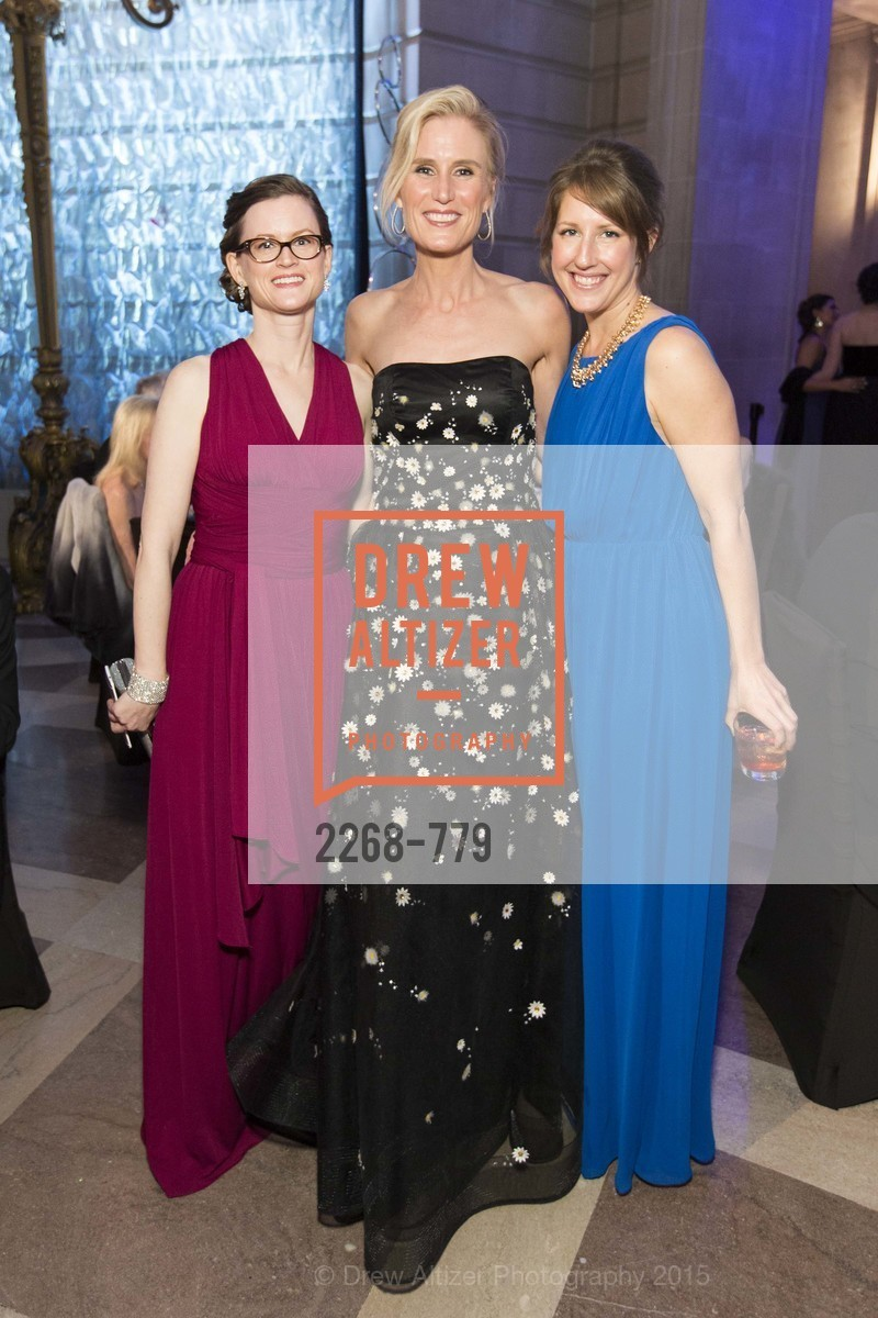 Elizabeth Lani, Alison Mauze, Sarah Malashock, San Francisco Ballet 2015 Opening Night Gala, San Francisco City Hall. 1 Dr Carlton B Goodlett Pl, January 22nd, 2015,Drew Altizer, Drew Altizer Photography, full-service agency, private events, San Francisco photographer, photographer california