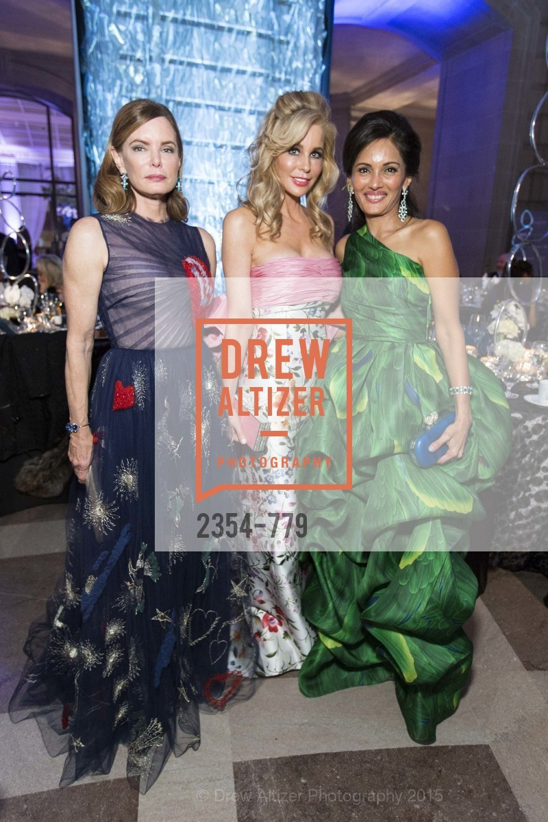 Suzy Kellems Dominik, Paula Carano, Komal Shah, San Francisco Ballet 2015 Opening Night Gala, San Francisco City Hall. 1 Dr Carlton B Goodlett Pl, January 22nd, 2015,Drew Altizer, Drew Altizer Photography, full-service agency, private events, San Francisco photographer, photographer california