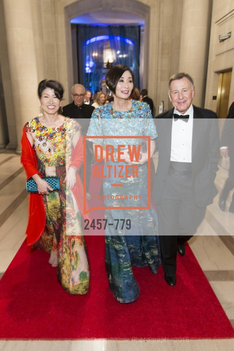 Akiko Yamazaki, Yurie Pascarella, Carl Pascarella, San Francisco Ballet 2015 Opening Night Gala, San Francisco City Hall. 1 Dr Carlton B Goodlett Pl, January 22nd, 2015,Drew Altizer, Drew Altizer Photography, full-service agency, private events, San Francisco photographer, photographer california