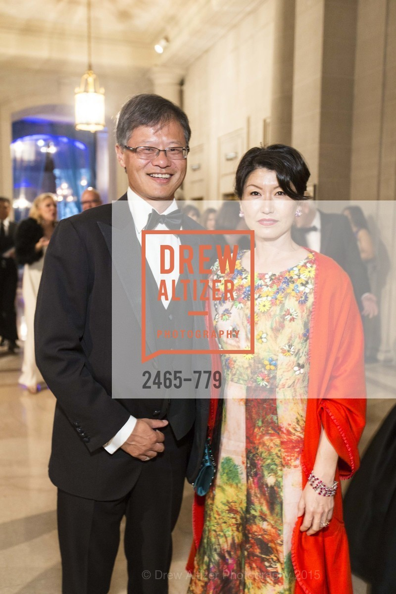 Jerry Yang, Akiko Yamazaki, San Francisco Ballet 2015 Opening Night Gala, San Francisco City Hall. 1 Dr Carlton B Goodlett Pl, January 22nd, 2015,Drew Altizer, Drew Altizer Photography, full-service agency, private events, San Francisco photographer, photographer california