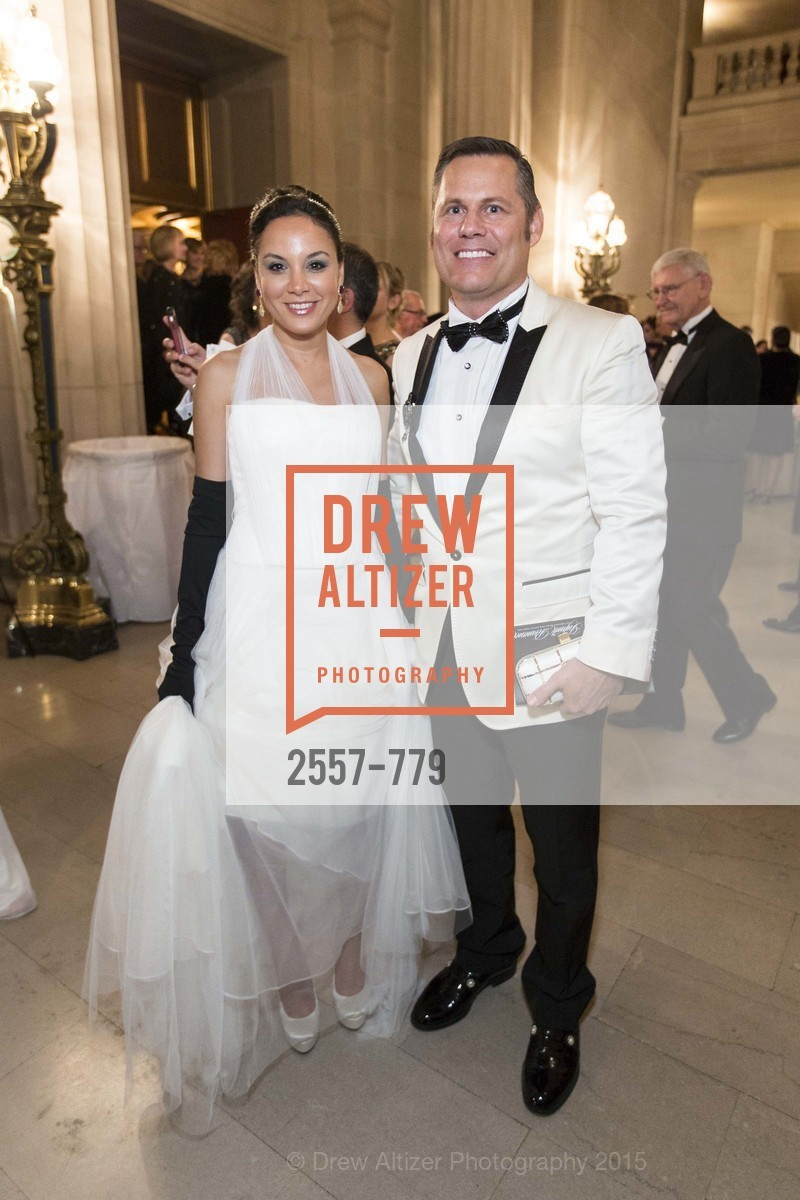 Bahya Oumil-Murad, Mark Calvano, San Francisco Ballet 2015 Opening Night Gala, San Francisco City Hall. 1 Dr Carlton B Goodlett Pl, January 22nd, 2015,Drew Altizer, Drew Altizer Photography, full-service agency, private events, San Francisco photographer, photographer california