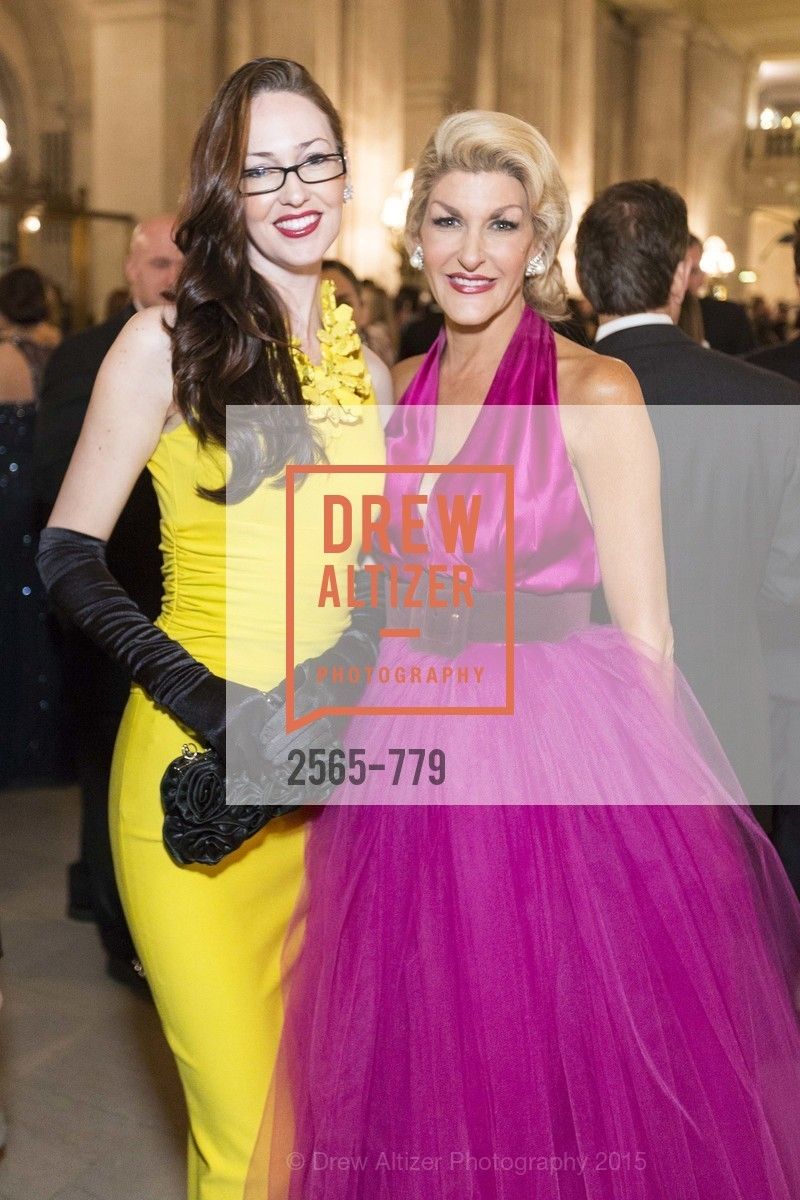 Katherine Hopgood, Karen Caldwell, San Francisco Ballet 2015 Opening Night Gala, San Francisco City Hall. 1 Dr Carlton B Goodlett Pl, January 22nd, 2015,Drew Altizer, Drew Altizer Photography, full-service agency, private events, San Francisco photographer, photographer california
