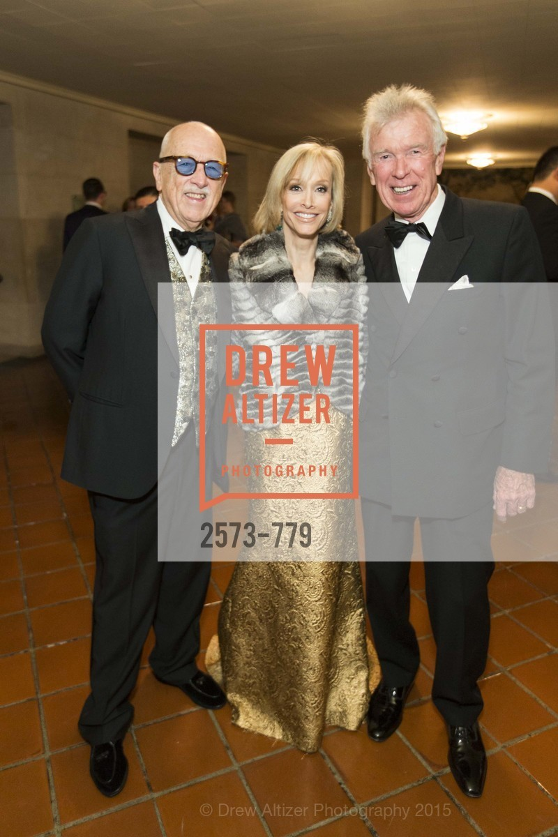 Wilkes Bashford, OJ Shansby, Van Kasper, San Francisco Ballet 2015 Opening Night Gala, San Francisco City Hall. 1 Dr Carlton B Goodlett Pl, January 22nd, 2015,Drew Altizer, Drew Altizer Photography, full-service agency, private events, San Francisco photographer, photographer california