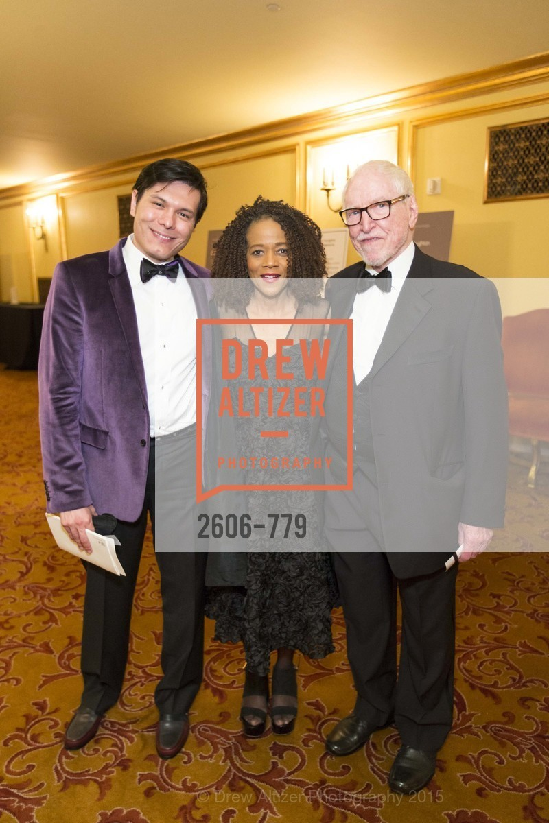 Michael Nguyen, Paula West, James Hormel, San Francisco Ballet 2015 Opening Night Gala, San Francisco City Hall. 1 Dr Carlton B Goodlett Pl, January 22nd, 2015,Drew Altizer, Drew Altizer Photography, full-service agency, private events, San Francisco photographer, photographer california