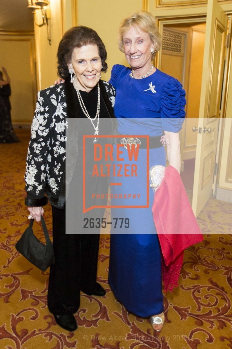 Lucy Jewett, Nancy Bechtle, San Francisco Ballet 2015 Opening Night Gala, San Francisco City Hall. 1 Dr Carlton B Goodlett Pl, January 22nd, 2015,Drew Altizer, Drew Altizer Photography, full-service agency, private events, San Francisco photographer, photographer california