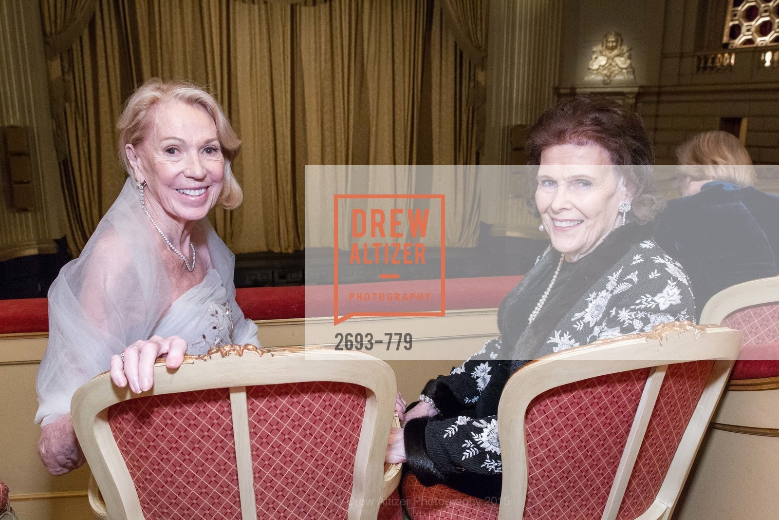Charlotte Shultz, Lucy Jewett, San Francisco Ballet 2015 Opening Night Gala, San Francisco City Hall. 1 Dr Carlton B Goodlett Pl, January 22nd, 2015,Drew Altizer, Drew Altizer Photography, full-service agency, private events, San Francisco photographer, photographer california