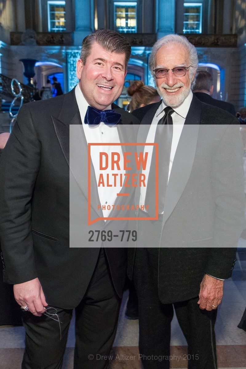 Alan Morrell, Ted Deikel, San Francisco Ballet 2015 Opening Night Gala, San Francisco City Hall. 1 Dr Carlton B Goodlett Pl, January 22nd, 2015,Drew Altizer, Drew Altizer Photography, full-service agency, private events, San Francisco photographer, photographer california