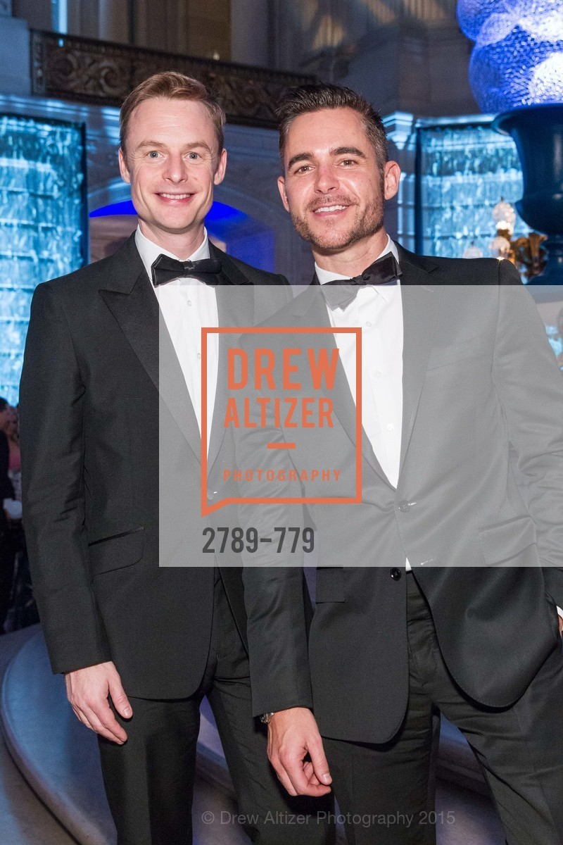 Christopher Wheeldon, Ross Rayburn, San Francisco Ballet 2015 Opening Night Gala, San Francisco City Hall. 1 Dr Carlton B Goodlett Pl, January 22nd, 2015,Drew Altizer, Drew Altizer Photography, full-service agency, private events, San Francisco photographer, photographer california