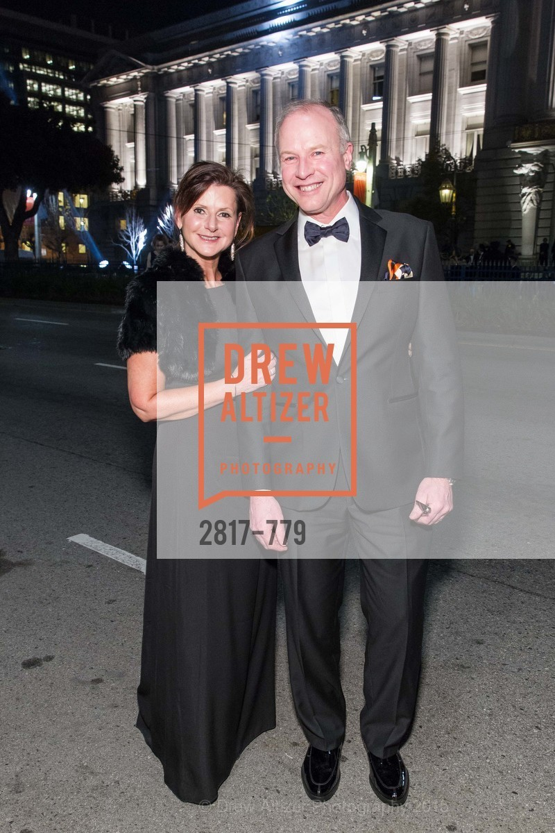 Diane Mailey, Don Derheim, San Francisco Ballet 2015 Opening Night Gala, San Francisco City Hall. 1 Dr Carlton B Goodlett Pl, January 22nd, 2015,Drew Altizer, Drew Altizer Photography, full-service agency, private events, San Francisco photographer, photographer california