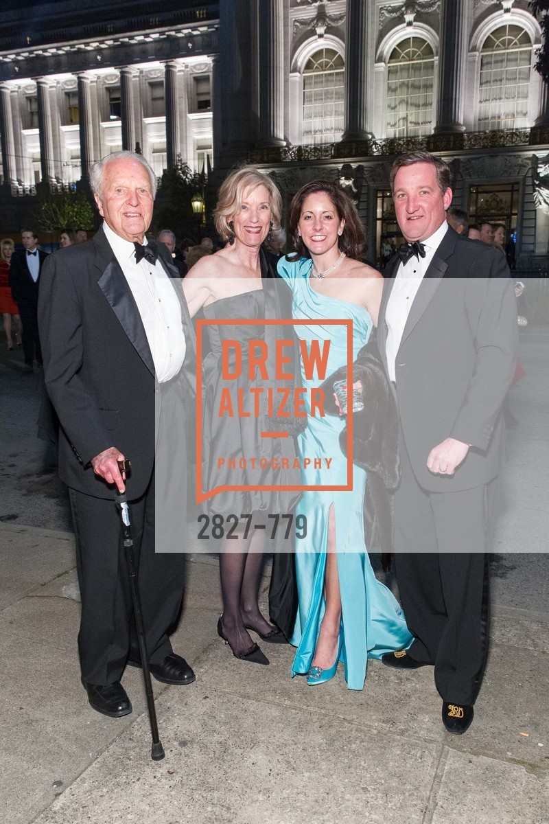 JIm Ludwig, Patsy Ludwig, Stacey Dobos, Ted Dobos, San Francisco Ballet 2015 Opening Night Gala, San Francisco City Hall. 1 Dr Carlton B Goodlett Pl, January 22nd, 2015,Drew Altizer, Drew Altizer Photography, full-service agency, private events, San Francisco photographer, photographer california