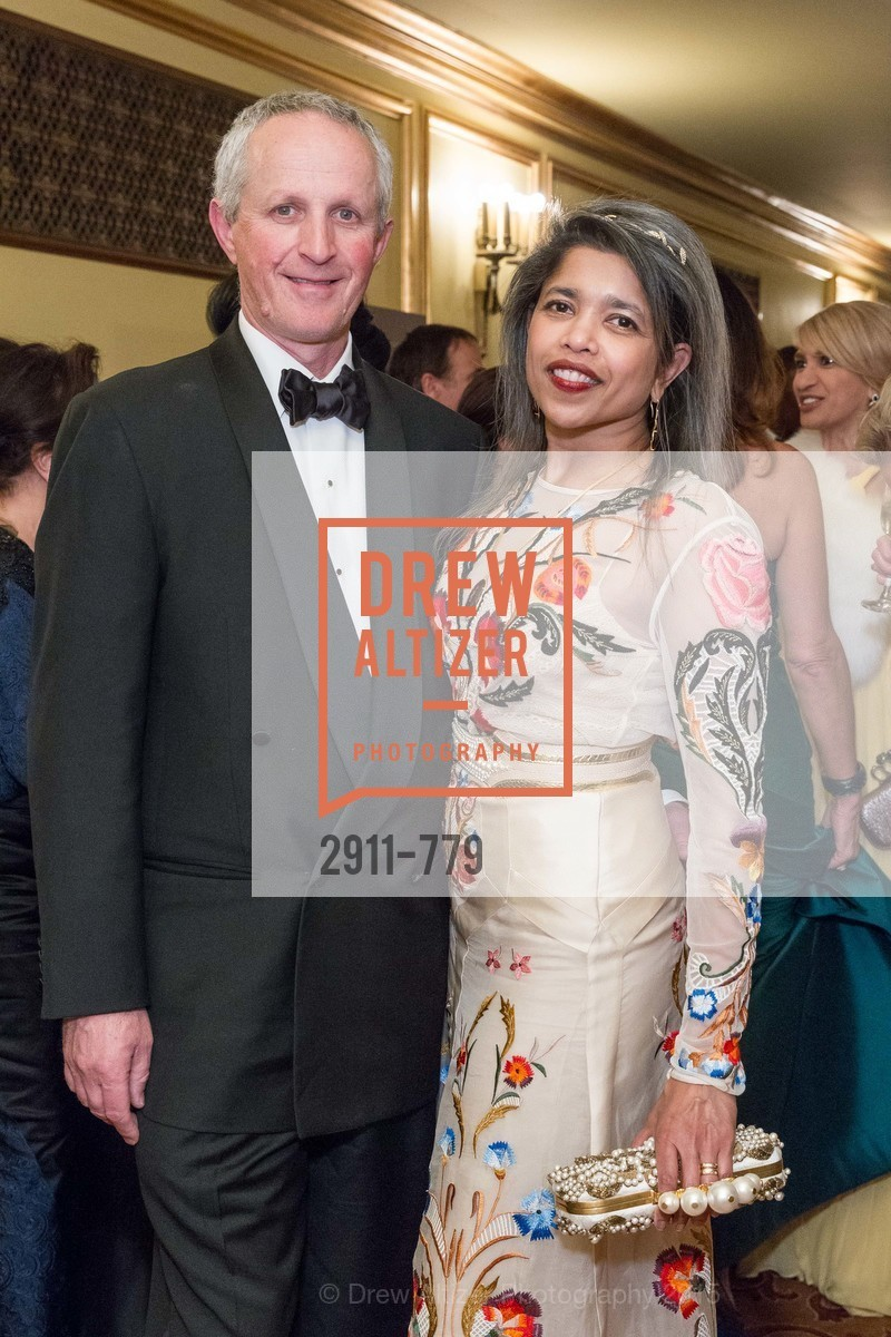 Phil Pemberton, Deepa Pakianathan, San Francisco Ballet 2015 Opening Night Gala, San Francisco City Hall. 1 Dr Carlton B Goodlett Pl, January 22nd, 2015