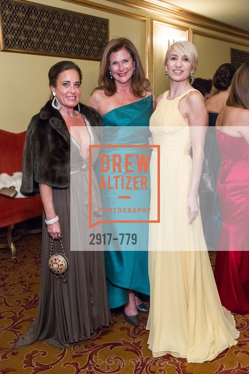 Natalia Urrutia, Linda Zider, Navid Armstrong, San Francisco Ballet 2015 Opening Night Gala, San Francisco City Hall. 1 Dr Carlton B Goodlett Pl, January 22nd, 2015,Drew Altizer, Drew Altizer Photography, full-service agency, private events, San Francisco photographer, photographer california